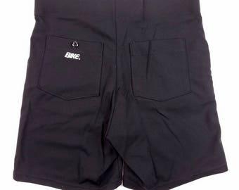 1980s Bicycle Shorts Black, Vintage Bike Shorts Large, 80s Cycling Shorts Plus Size 34 Waist, 80s Biking Shorts High Waisted
