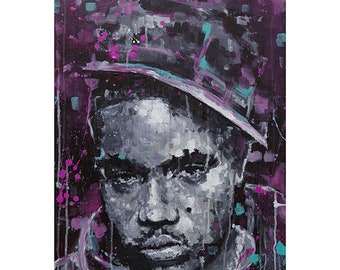NAS from New York Triptic Wall Art Giclee Print, 50cm x 70cm
