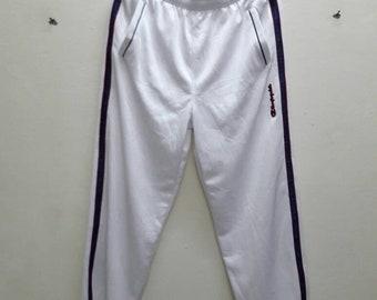 Champion sweatpants jogger track pants White Black Tape XO Size sports