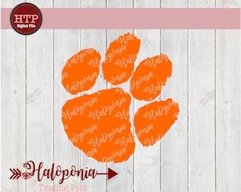 Tiger Paw SVG cut File