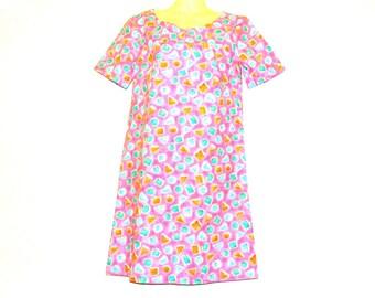 Mini Dress, Short Dress, Womens Dress, Mod Dress, Shift Dress, Size 8, Size 6, By Rebeccas Clothes