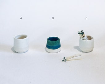 Match Striker / Ceramic Matchstrike / Match Holder