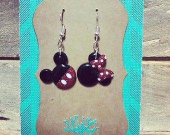 Mickey & Minnie Mouse Earrings