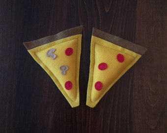 Pizza Cat Toy - Catnip Cat Toy - Organic Cat Nip Pizza Slice