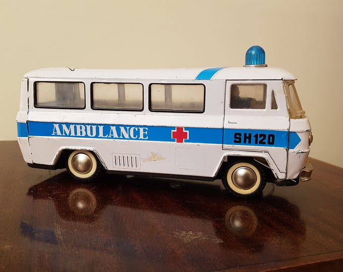 Vintage Tin Ambulance
