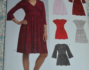 New Look 6722  Misses Dress or Top Sewing Pattern - UNCUT - Size 10 - 22