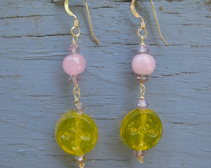 Insouciant Studios Lemon Drop Earrings Sterling Silver