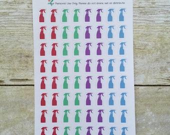 Spray Bottle Planner Stickers box13