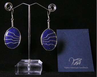 Lapis Lazuli Earrings |  | Native American