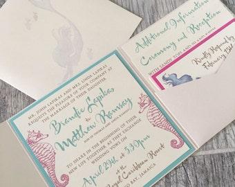 Lilly Pulitzer wedding invites