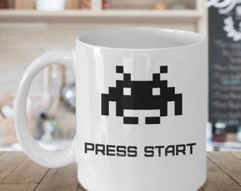 Space Invaders Graphic Mug