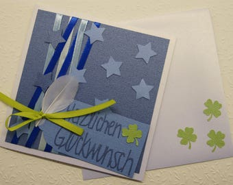 Greeting cards, birthday cards, invitations, acknowledgements made by SVEVA