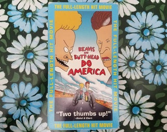 Beavis and Butthead do America VHS 1997