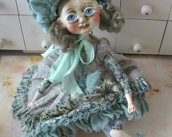 OOAK ART Doll '' Debi ''