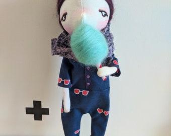 Addison- handmade doll, art doll, ooak doll, doll