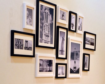 Photo Picture Frame Set -  Modern 12