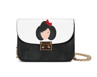 Snow White-SMALL SHOULDER BAG