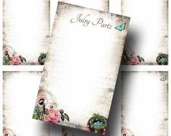 BIRDS NEST Earring Cards, Jewelry cards, Earring Display, Earring Holder, Necklace Holder, Custom Jewelry Cards