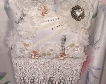 Decorative vintage style pillow