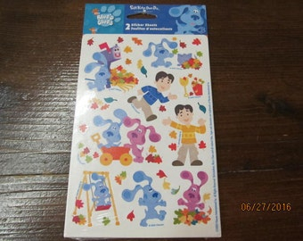 Vintage Stickety Doo Da Stickers New Mint in package You Choose Blue's Clues Dora the Explorer or Easter Bunny
