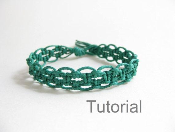 macrame bracelet pattern pdf instructions tutorial forest. Black Bedroom Furniture Sets. Home Design Ideas