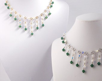 Enchanted Necklace with Swarovski Crystal