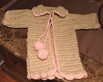 12-18 Month Girl's Duster Sweater.