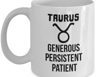 Taurus Gift, Taurus Mug, Zodiac Gift, Astrology Gift, Horoscope Gift, Horoscope Mug, Astrology Mug, Zodiac, Taurus Birthday, May Birthday