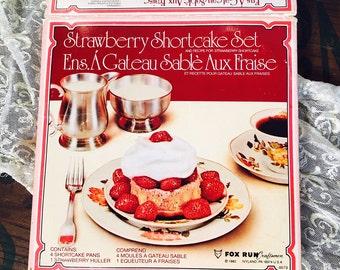 Strawberry Shortcake Set, Fox Run Craftsmen
