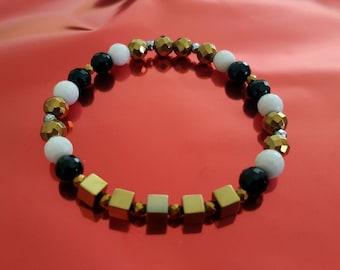 Bracelet BlackNGold Eugenie