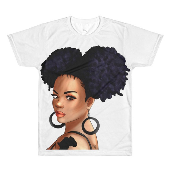 Jessie - Unisex Sublimation crew neck Tee