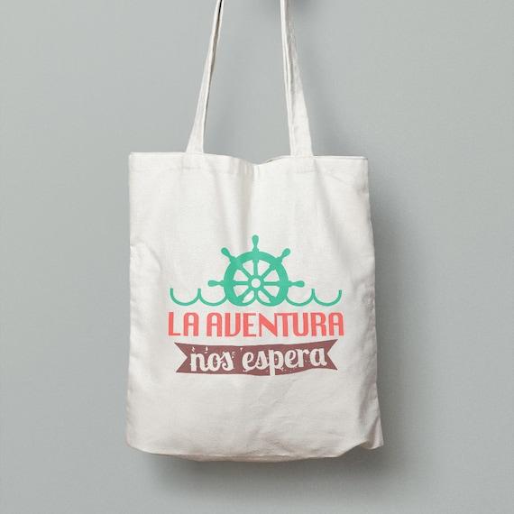 """Spanish Bag """"La aventura nos espera"""""""