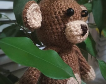 Cute crocheted monkey
