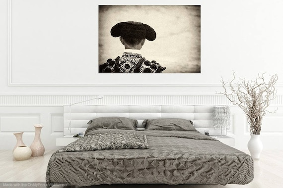 THE MATADOR. Black and White Print, Monochrome Print, Spanish Print, Travel photography, Limited Edition, Sepia Tone