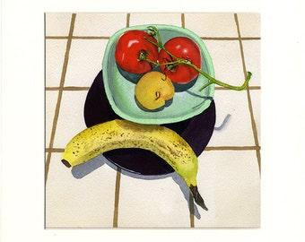 Sad Fruit 3 (Painting)