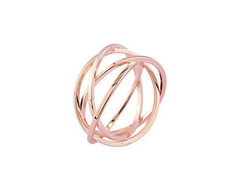 Rose Gold Wire Ring
