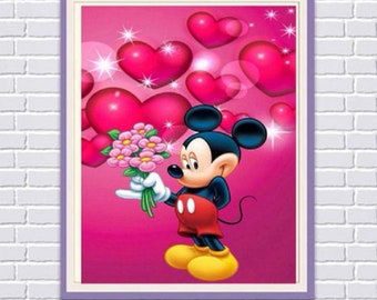 Mickey Mouse 5D DIY Diamond Picture