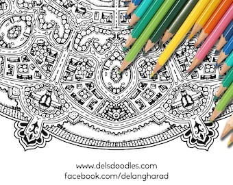 Mapdala Colouring Pack
