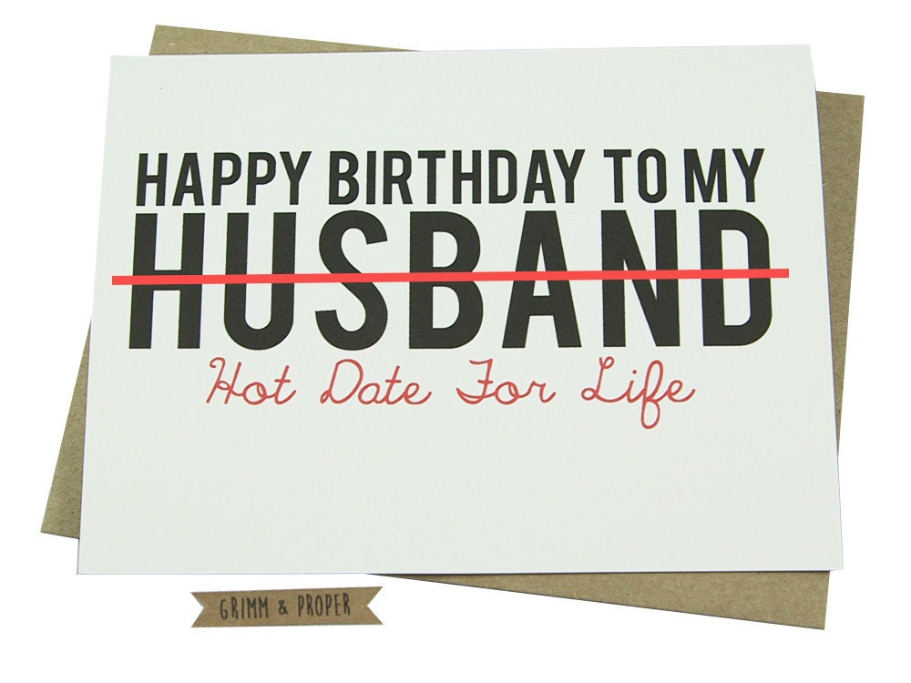 Funny Birthday Meme Husband : Husband birthday card loving funny for him hot sexy