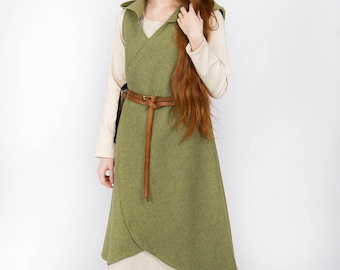 Burgschneider Makers Medieval Fantasy Wrap Dress Runa