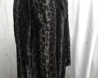 Meow! Cat print Sheath Dress