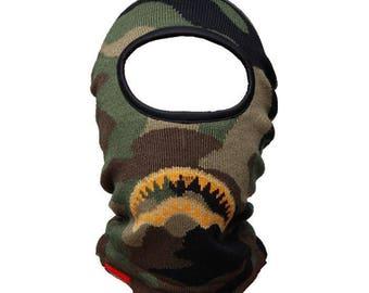 Camo ski mask