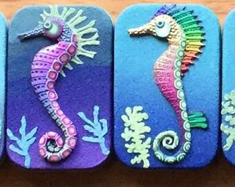 Seahorse Tins