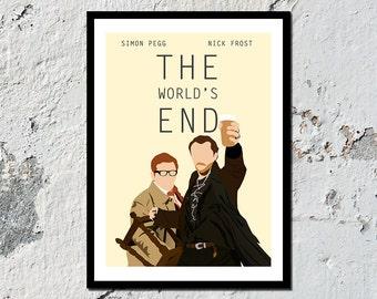 The World's End high quality film print (A5, A4, A3)