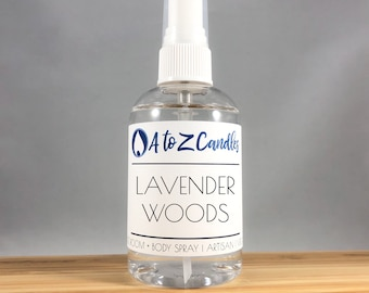 Lavender Room Spray, lavender spray, AIR FRESHENER, Body Spray, Linen Spray, Odor Eliminator Spray, Fabric Refresher, Fragrance Spray