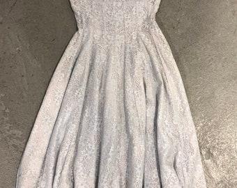 1950s Jonathan Logan lace tea dress
