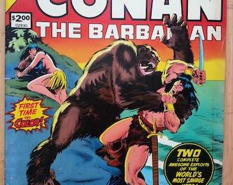 Conan the Barbarian Marvel Treasury Edition #19 Vintage Comic Book - 1978