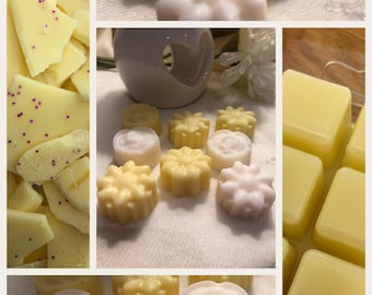 Lemon soy wax melts, essential oil, Natural wax , Highly scented , fresh scent ,