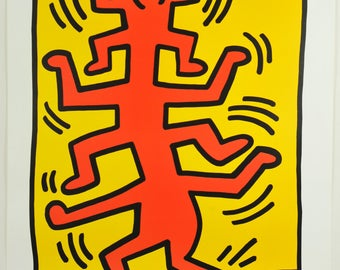 Keith Haring, Untiteled (1988), Exhibition Graphic