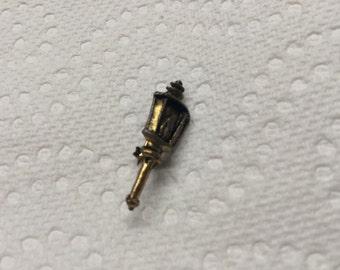 Vintage Goldtone Lamp/Light Design Pin/Brooch